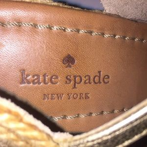 kate spade Shoes - KATE SPADE Espadrille Wedges-Size 7.5